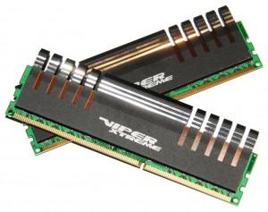 Patriot Viper Xtreme Division 2 DDR3-1600MHz (2 x 2GBs) Kit