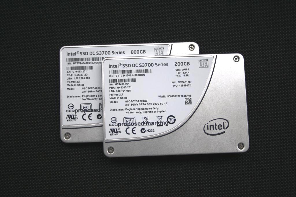 Intel DC S3700 Data Center SSD (200/800GB)